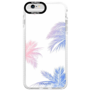 Silikonové pouzdro Bumper iSaprio Digital Palms 10 na mobil Apple iPhone 6/6S