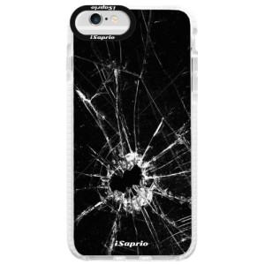 Silikonové pouzdro Bumper iSaprio Broken Glass 10 na mobil Apple iPhone 6/6S