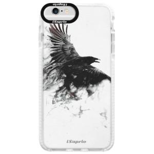 Silikonové pouzdro Bumper iSaprio Dark Bird 01 na mobil Apple iPhone 6/6S