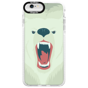 Silikonové pouzdro Bumper iSaprio Angry Bear na mobil iPhone 6/6S