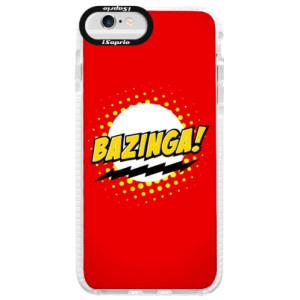 Silikonové pouzdro Bumper iSaprio Bazinga 01 na mobil iPhone 6/6S
