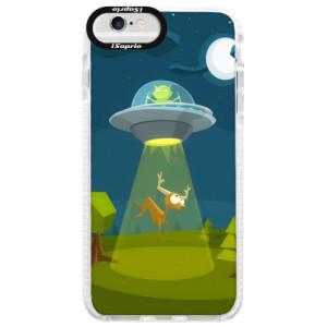 Silikonové pouzdro Bumper iSaprio Alien 01 na mobil iPhone 6/6S