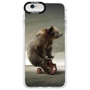 Silikonové pouzdro Bumper iSaprio Bear 01 na mobil Apple iPhone 6/6S