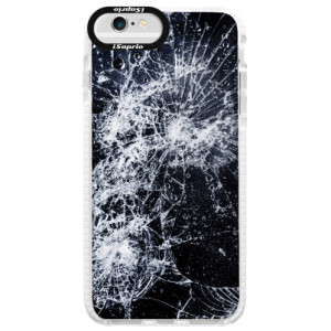 Silikonové pouzdro Bumper iSaprio Cracked na mobil Apple iPhone 6/6S