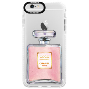 Silikonové pouzdro Bumper iSaprio Chanel Rose na mobil Apple iPhone 6/6S