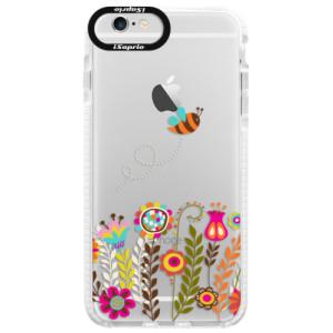 Silikonové pouzdro Bumper iSaprio Bee 01 na mobil Apple iPhone 6/6S
