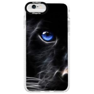 Silikonové pouzdro Bumper iSaprio Black Puma na mobil Apple iPhone 6/6S