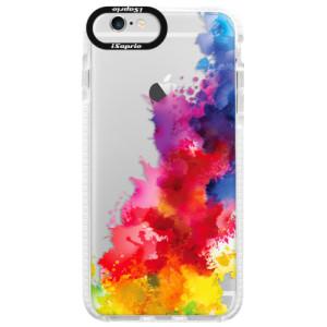 Silikonové pouzdro Bumper iSaprio Color Splash 01 na mobil Apple iPhone 6/6S