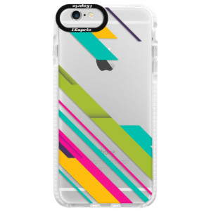 Silikonové pouzdro Bumper iSaprio Color Stripes 03 na mobil Apple iPhone 6/6S