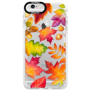 Silikonové pouzdro Bumper iSaprio Autumn Leaves 01 na mobil iPhone 6/6S