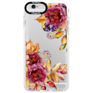 Silikonové pouzdro Bumper iSaprio Fall Flowers na mobil Apple iPhone 6/6S