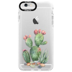 Silikonové pouzdro Bumper iSaprio Cacti 01 na mobil Apple iPhone 6/6S