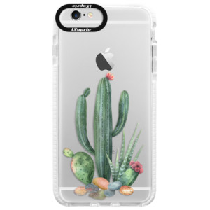 Silikonové pouzdro Bumper iSaprio Cacti 02 na mobil Apple iPhone 6/6S