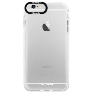 Silikonové pouzdro Bumper iSaprio 4Pure mléčné bez potisku na mobil iPhone 6/6S