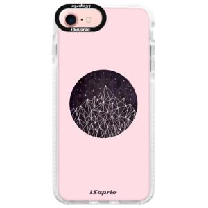 Silikonové pouzdro Bumper iSaprio Digital Mountains 10 na mobil Apple iPhone 7