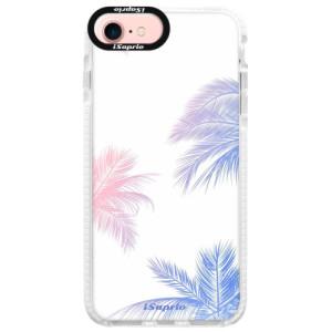 Silikonové pouzdro Bumper iSaprio Digital Palms 10 na mobil Apple iPhone 7