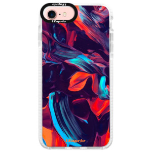 Silikonové pouzdro Bumper iSaprio Color Marble 19 na mobil Apple iPhone 7
