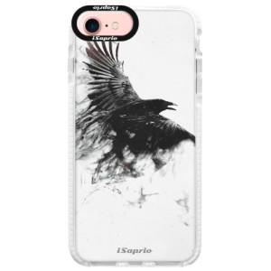 Silikonové pouzdro Bumper iSaprio Dark Bird 01 na mobil Apple iPhone 7