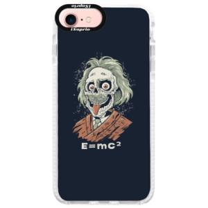 Silikonové pouzdro Bumper iSaprio Einstein 01 na mobil Apple iPhone 7