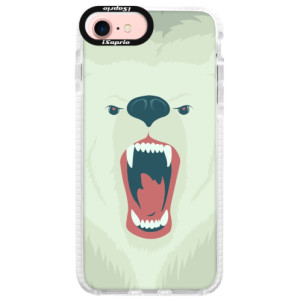 Silikonové pouzdro Bumper iSaprio Angry Bear na mobil iPhone 7