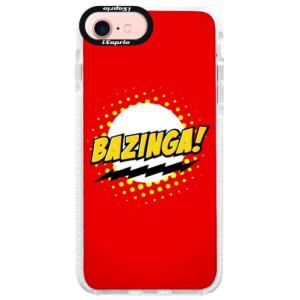 Silikonové pouzdro Bumper iSaprio Bazinga 01 na mobil iPhone 7 - poslední kus za tuto cenu