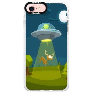Silikonové pouzdro Bumper iSaprio Alien 01 na mobil iPhone 7