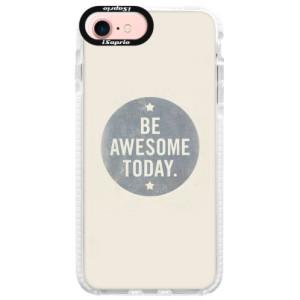 Silikonové pouzdro Bumper iSaprio Awesome 02 na mobil iPhone 7
