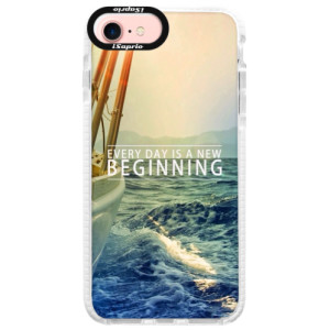 Silikonové pouzdro Bumper iSaprio Beginning na mobil Apple iPhone 7
