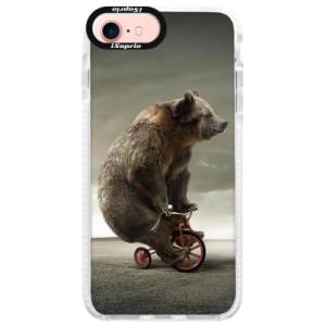 Silikonové pouzdro Bumper iSaprio Bear 01 na mobil Apple iPhone 7