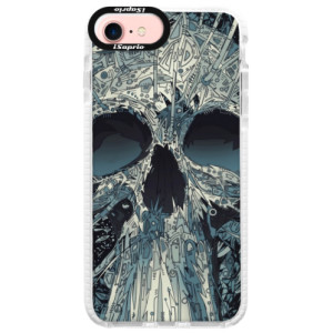 Silikonové pouzdro Bumper iSaprio Abstract Skull na mobil iPhone 7