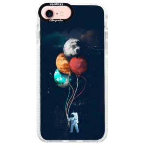 Silikonové pouzdro Bumper iSaprio Balloons 02 na mobil iPhone 7