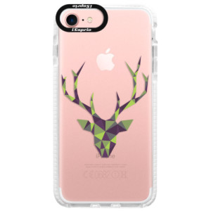 Silikonové pouzdro Bumper iSaprio Deer Green na mobil Apple iPhone 7