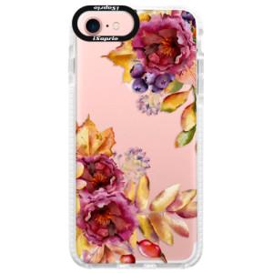 Silikonové pouzdro Bumper iSaprio Fall Flowers na mobil Apple iPhone 7