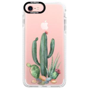 Silikonové pouzdro Bumper iSaprio Cacti 02 na mobil Apple iPhone 7