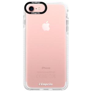Silikonové pouzdro Bumper iSaprio 4Pure mléčné bez potisku na mobil iPhone 7