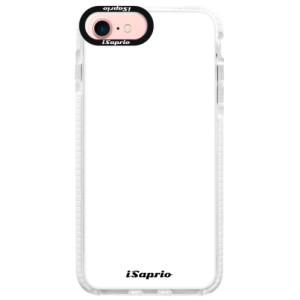 Silikonové pouzdro Bumper iSaprio 4Pure bílé na mobil iPhone 7