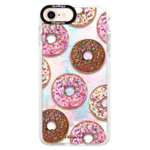 Silikonové pouzdro Bumper iSaprio Donuts 11 na mobil Apple iPhone 8
