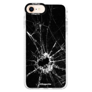 Silikonové pouzdro Bumper iSaprio Broken Glass 10 na mobil Apple iPhone 8