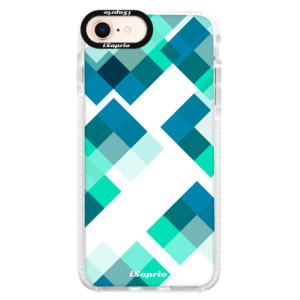Silikonové pouzdro Bumper iSaprio Abstract Squares 11 na mobil iPhone 8