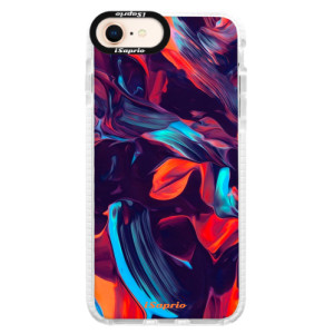 Silikonové pouzdro Bumper iSaprio Color Marble 19 na mobil Apple iPhone 8