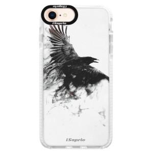 Silikonové pouzdro Bumper iSaprio Dark Bird 01 na mobil Apple iPhone 8