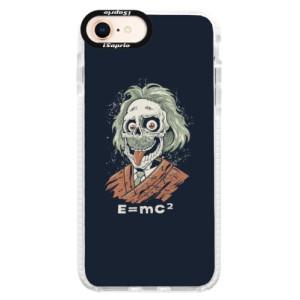 Silikonové pouzdro Bumper iSaprio Einstein 01 na mobil Apple iPhone 8