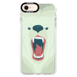 Silikonové pouzdro Bumper iSaprio Angry Bear na mobil iPhone 8