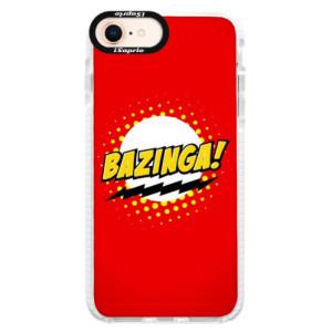 Silikonové pouzdro Bumper iSaprio Bazinga 01 na mobil iPhone 8