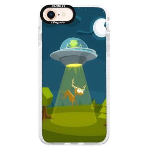 Silikonové pouzdro Bumper iSaprio Alien 01 na mobil iPhone 8