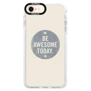 Silikonové pouzdro Bumper iSaprio Awesome 02 na mobil iPhone 8