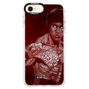 Silikonové pouzdro Bumper iSaprio Bruce Lee na mobil Apple iPhone 8