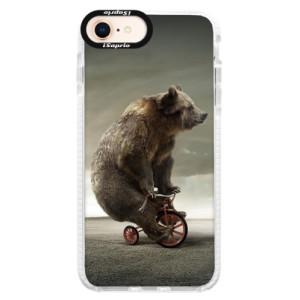 Silikonové pouzdro Bumper iSaprio Bear 01 na mobil Apple iPhone 8