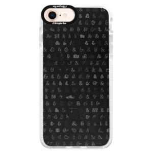 Silikonové pouzdro Bumper iSaprio Ampersand 01 na mobil iPhone 8