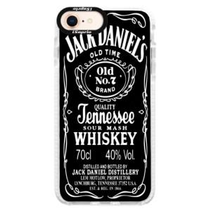 Silikonové pouzdro Bumper iSaprio Jack Daniels na mobil Apple iPhone 8